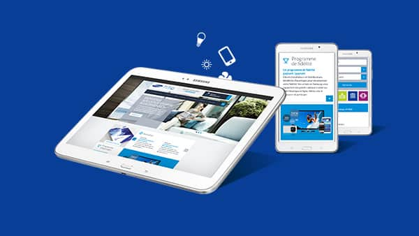 Samsung | Extranet Blue Dimension